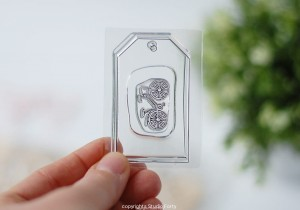 Bicycle -small  stamp set #21