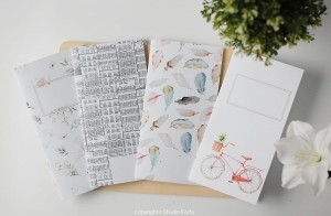 Journey Notebook WHITE - So Romantic edition