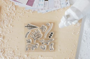 Woodland- stamp set#128