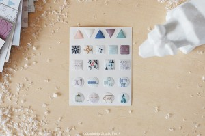 NORDICA  - 3D sticker set - shapes
