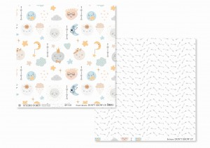 Don't grow up - 01- scrapbook paper