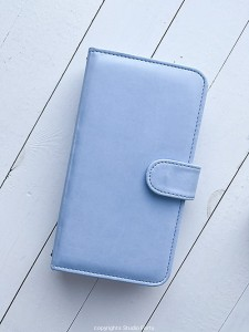 Journal Stories  - Notebook cover - Baby Blue
